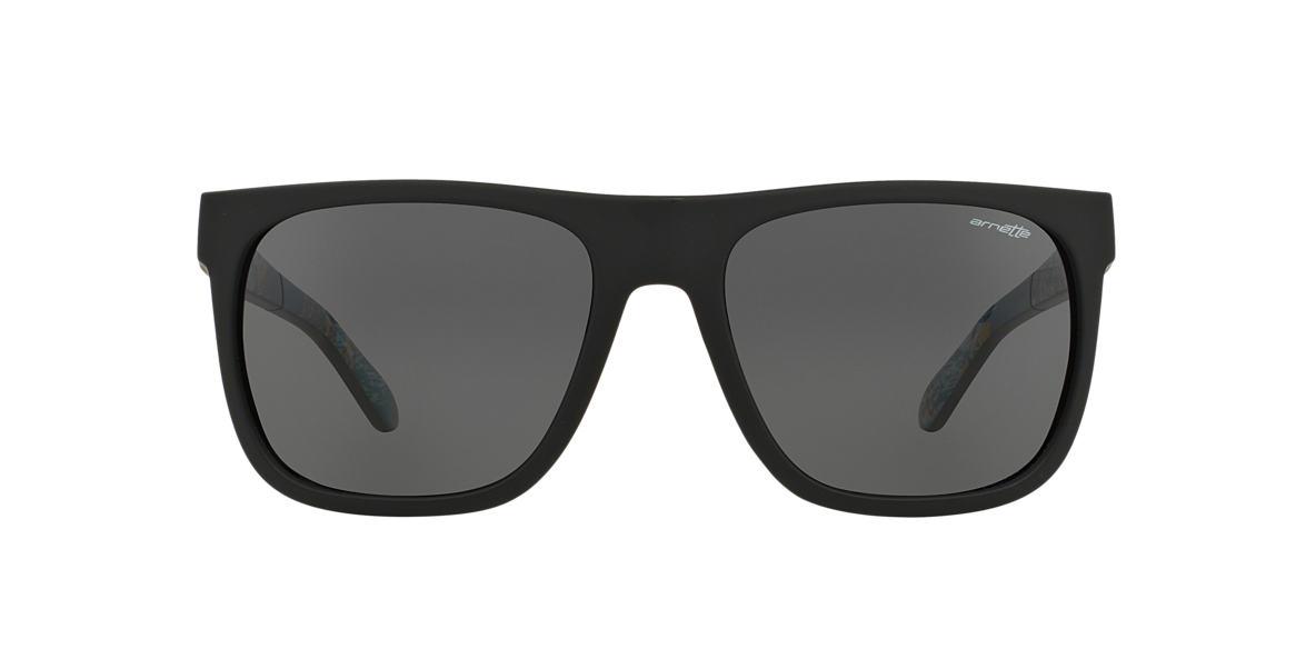 ARNETTE Black Matte AN4143 FIRE DRILL Grey lenses 59mm