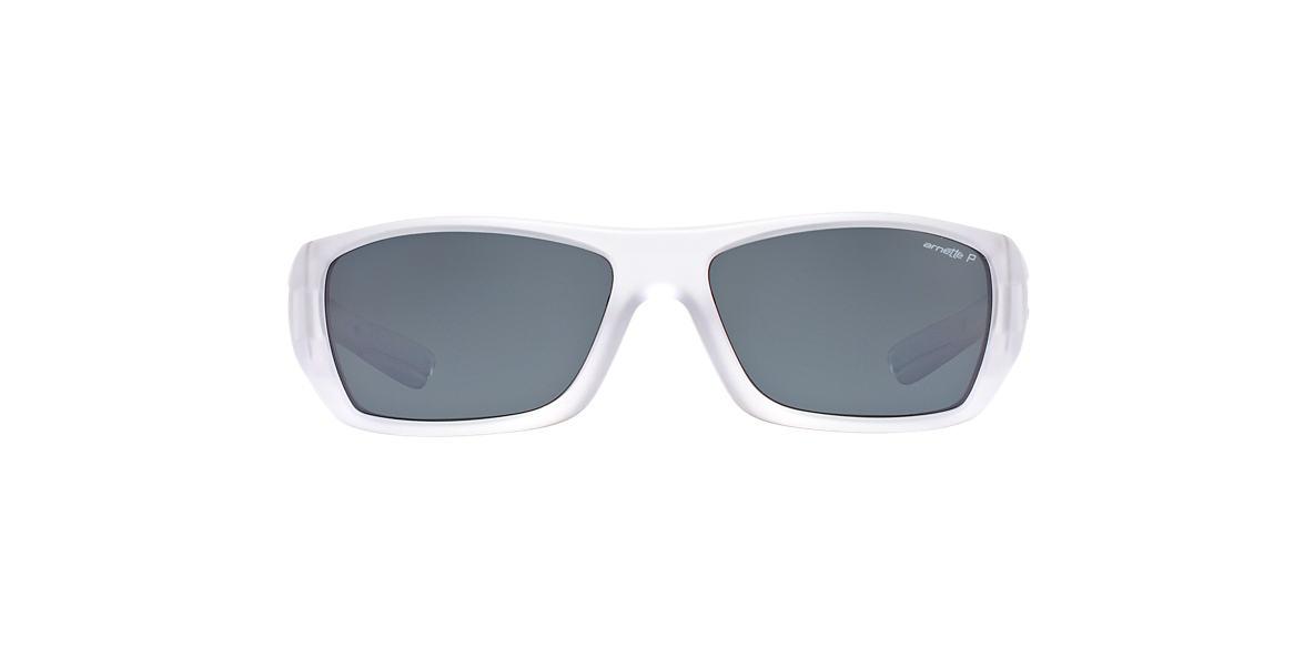 ARNETTE Clear AN4147 STICKUP Grey polarized lenses 63mm