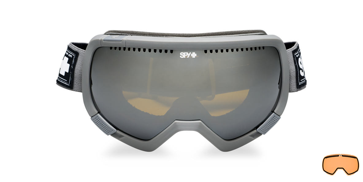 SPY GOGGLES Grey PLATOON Bronze lenses mm