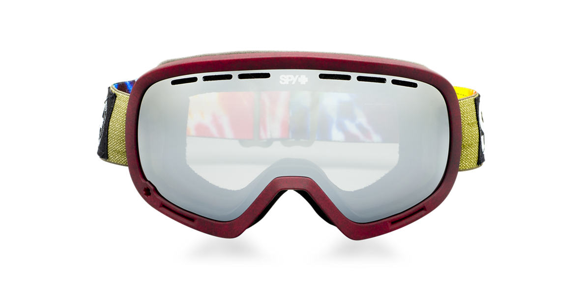 SPY GOGGLES Burgundy MARSHALL Grey lenses mm