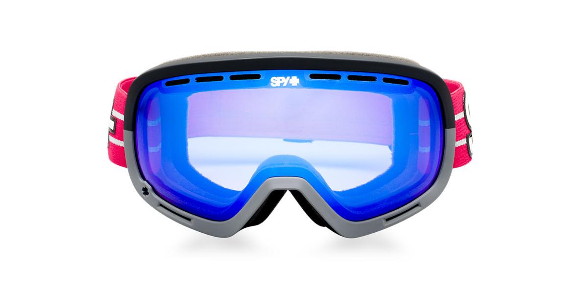 SPY GOGGLES Black MARSHALL + LOUIE VITO Blue lenses mm