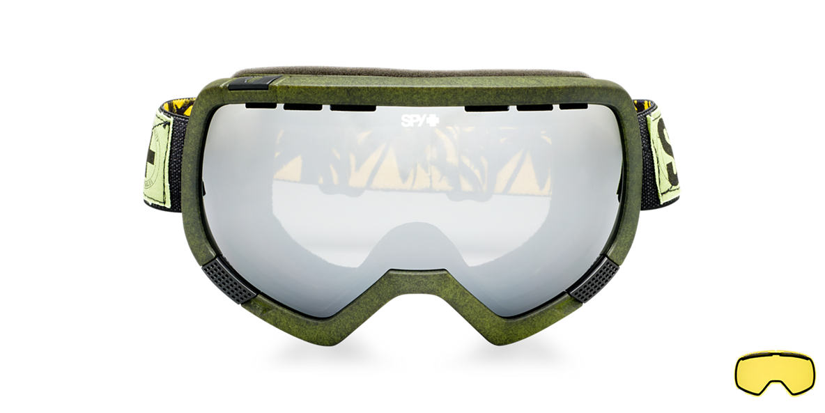 SPY GOGGLES Black PLATOON Grey lenses mm