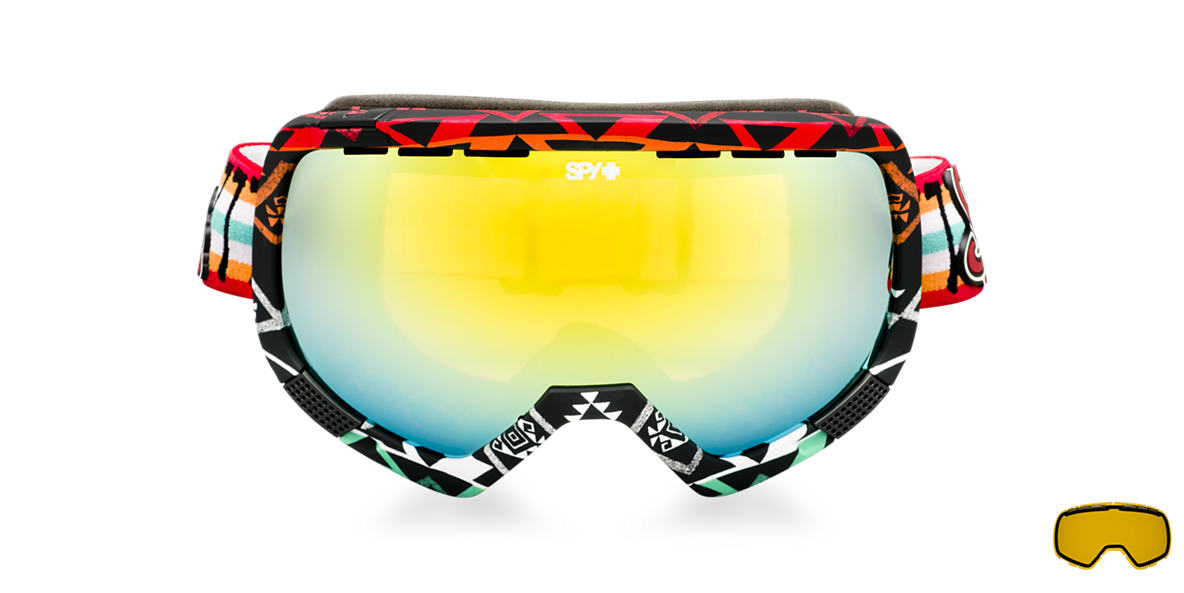 SPY GOGGLES Multicolor PLATOON + WILEY MILLER Brown lenses mm