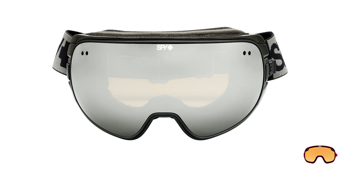 SPY GOGGLES Black DOOM Brown lenses mm