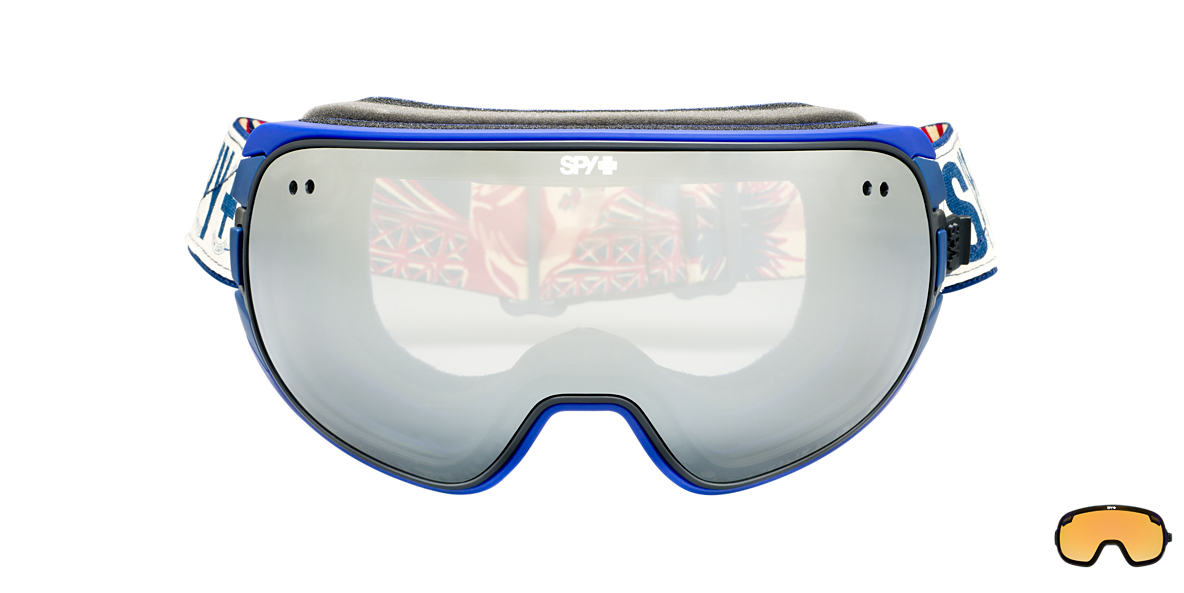 SPY GOGGLES Black DOOM Grey lenses mm