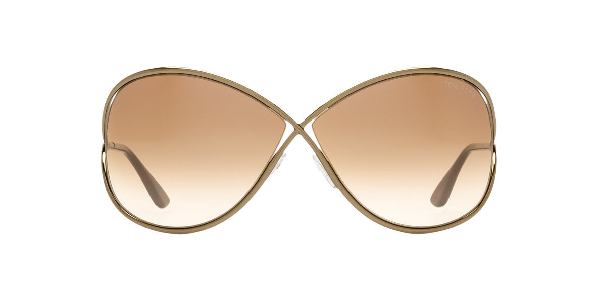 TOM FORD Bronze FT0130 MIRANDA Bronze lenses 68mm
