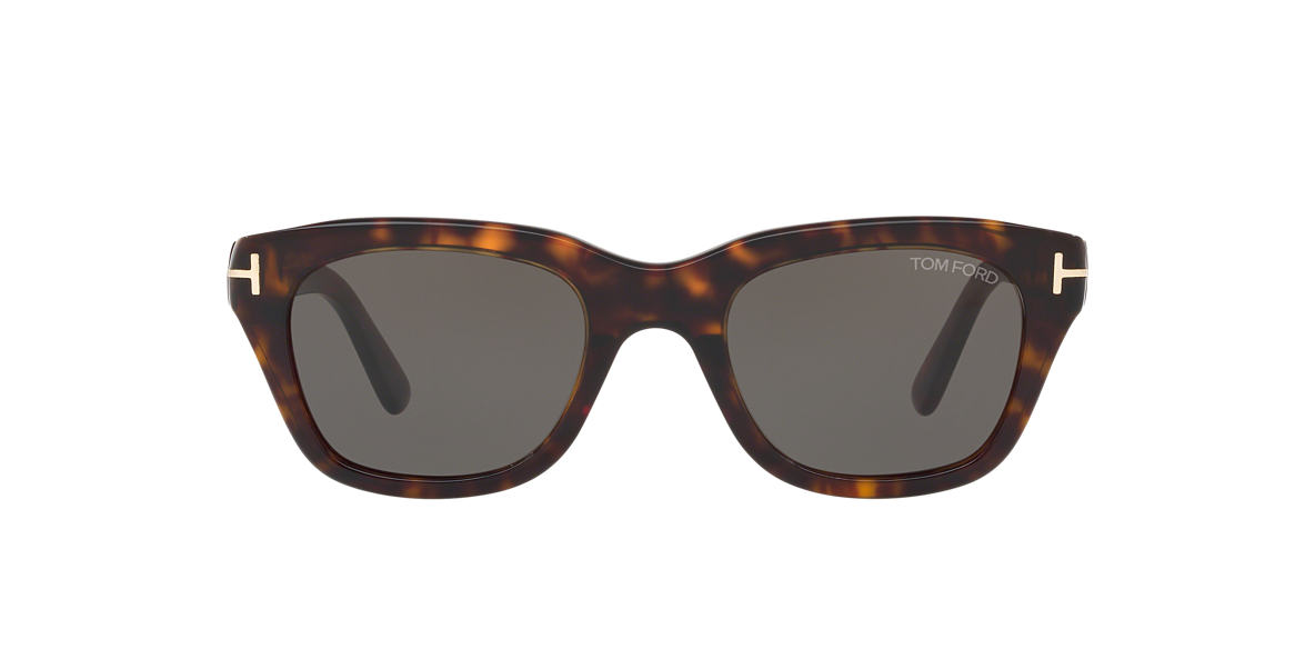TOM FORD Brown FT0237 SNOWDON Green lenses 50mm