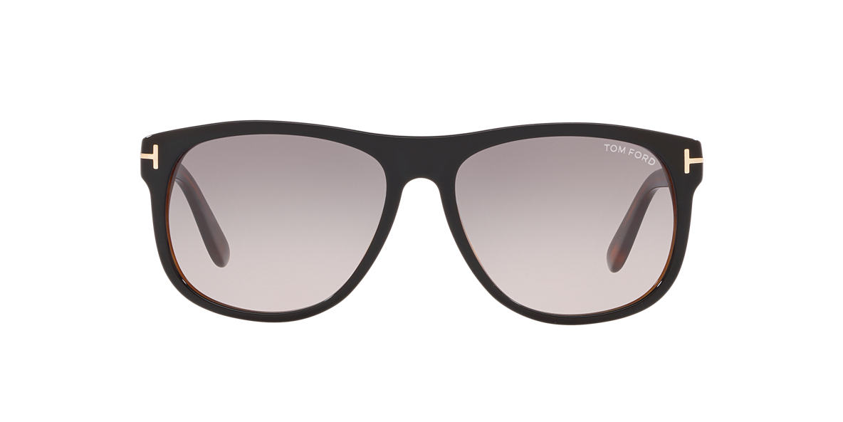 TOM FORD Black FT0236 Grey lenses 58mm