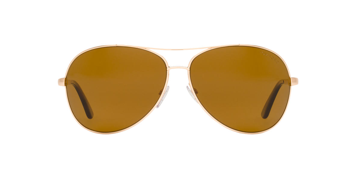 TOM FORD Gold FT0035 CHARLES Brown polarized lenses 62mm