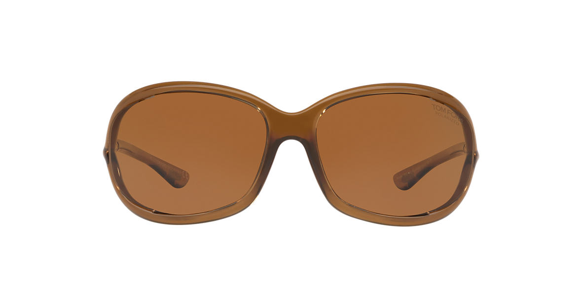 TOM FORD Brown FT0008 JENNIFER Brown polarized lenses 61mm