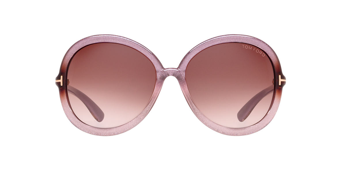 TOM FORD Pink FT0276 CANDICE Brown lenses 59mm