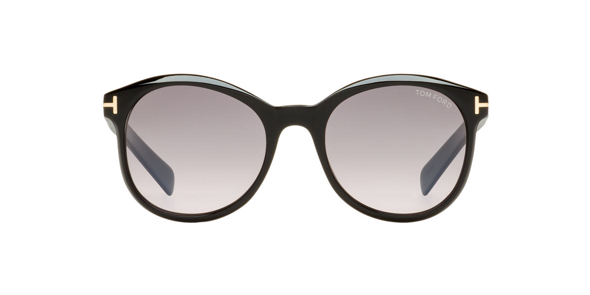 TOM FORD Black FT0298 RILEY Grey lenses 51mm