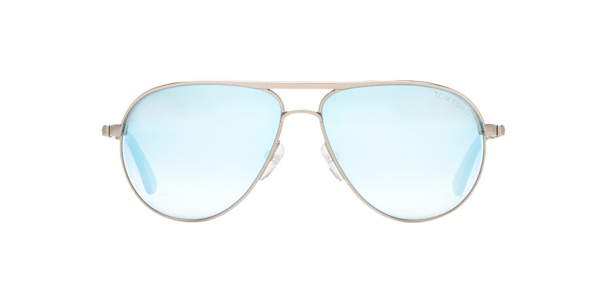 TOM FORD Silver FT0144 MARKO Blue lenses 58mm