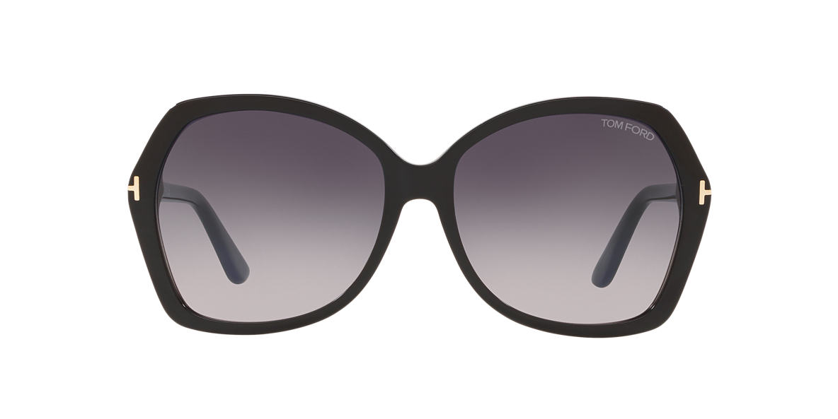 TOM FORD Black FT0328 Grey lenses 60mm