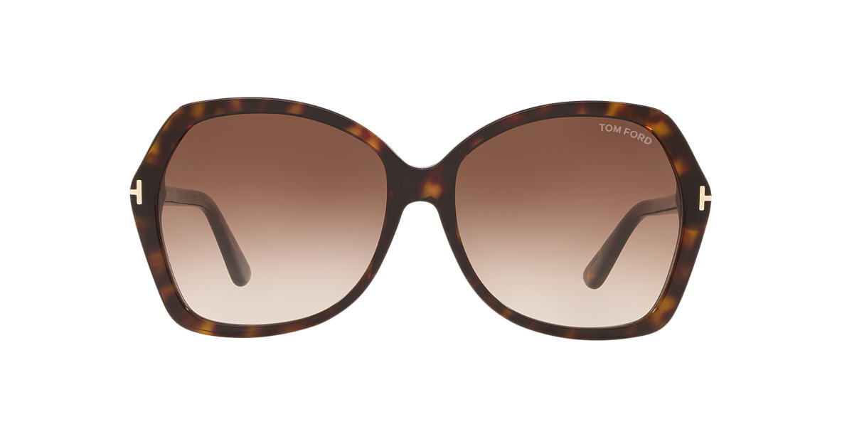 TOM FORD Tortoise TFS328 Brown lenses 60mm