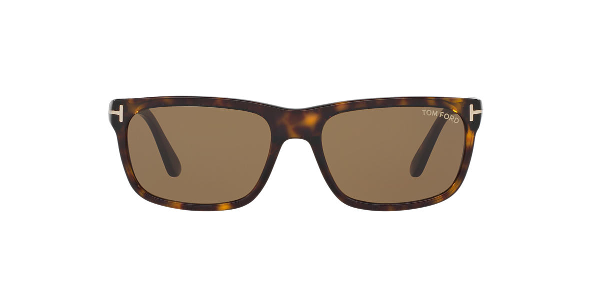 TOM FORD Tortoise FT0337 HUGH Brown lenses 55mm