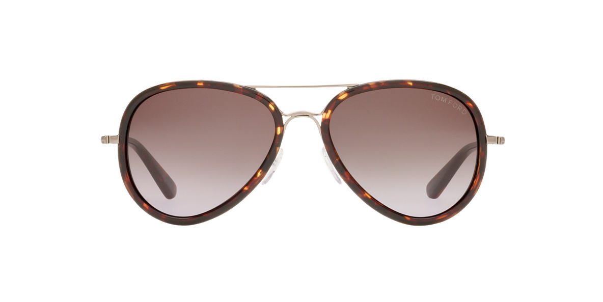 TOM FORD Tortoise FT0341 Grey lenses 55mm