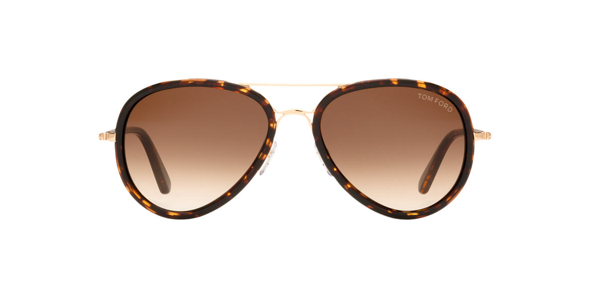 TOM FORD Rose Gold FT0341 Brown lenses 55mm