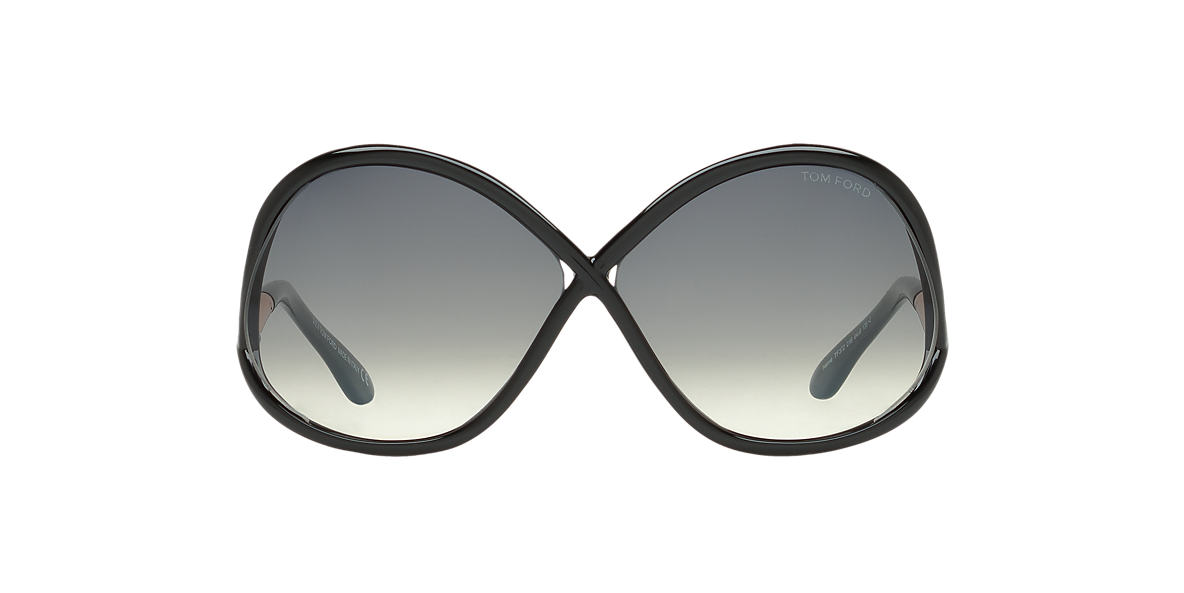 TOM FORD Black FT0372 64 Grey lenses 64mm