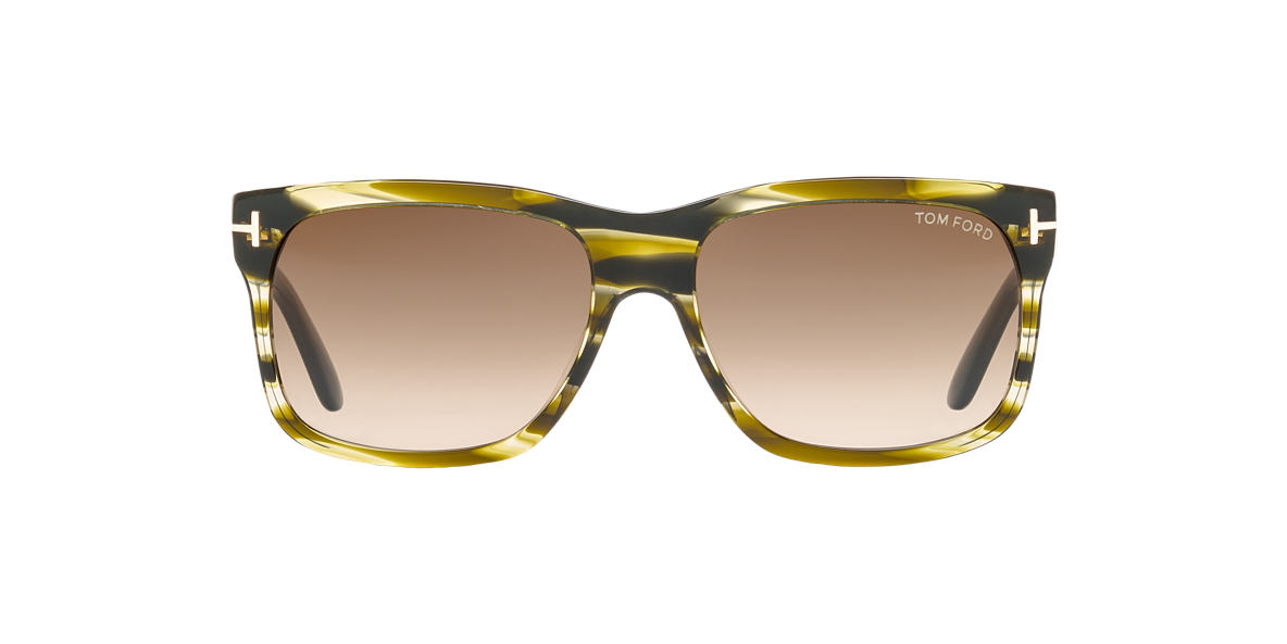 TOM FORD Green FT0376 58 Grey lenses 58mm