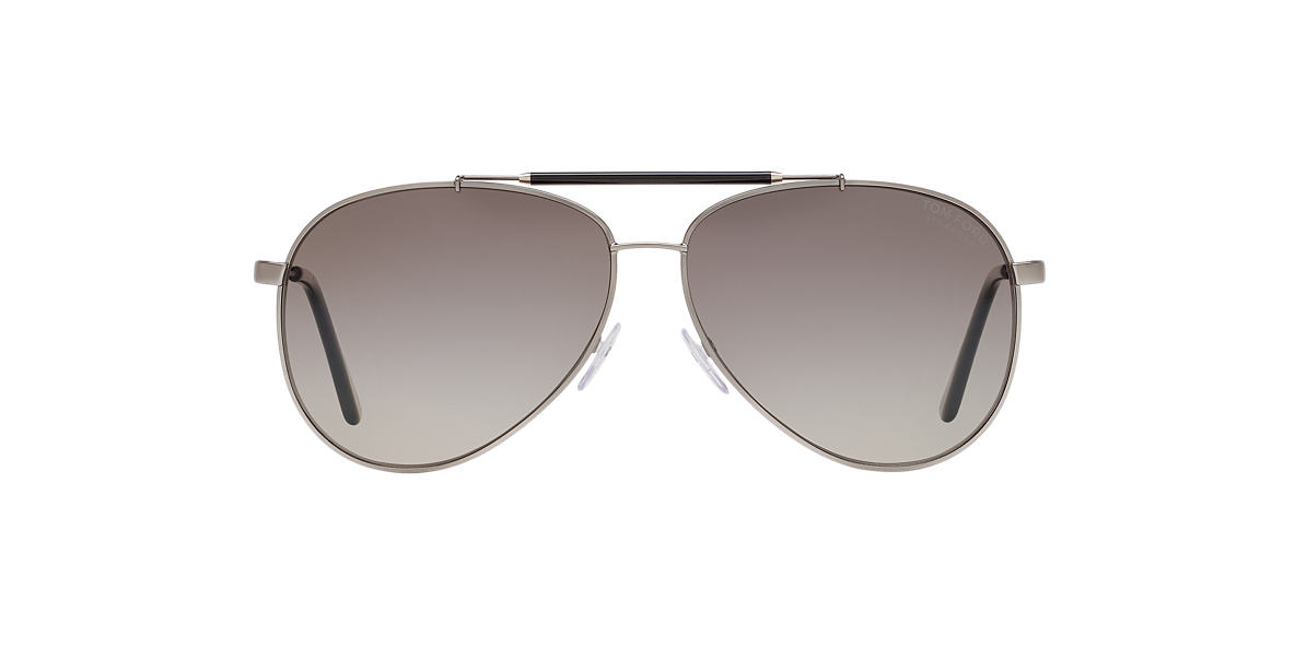 TOM FORD Silver TFS378 Grey polarised lenses 62mm
