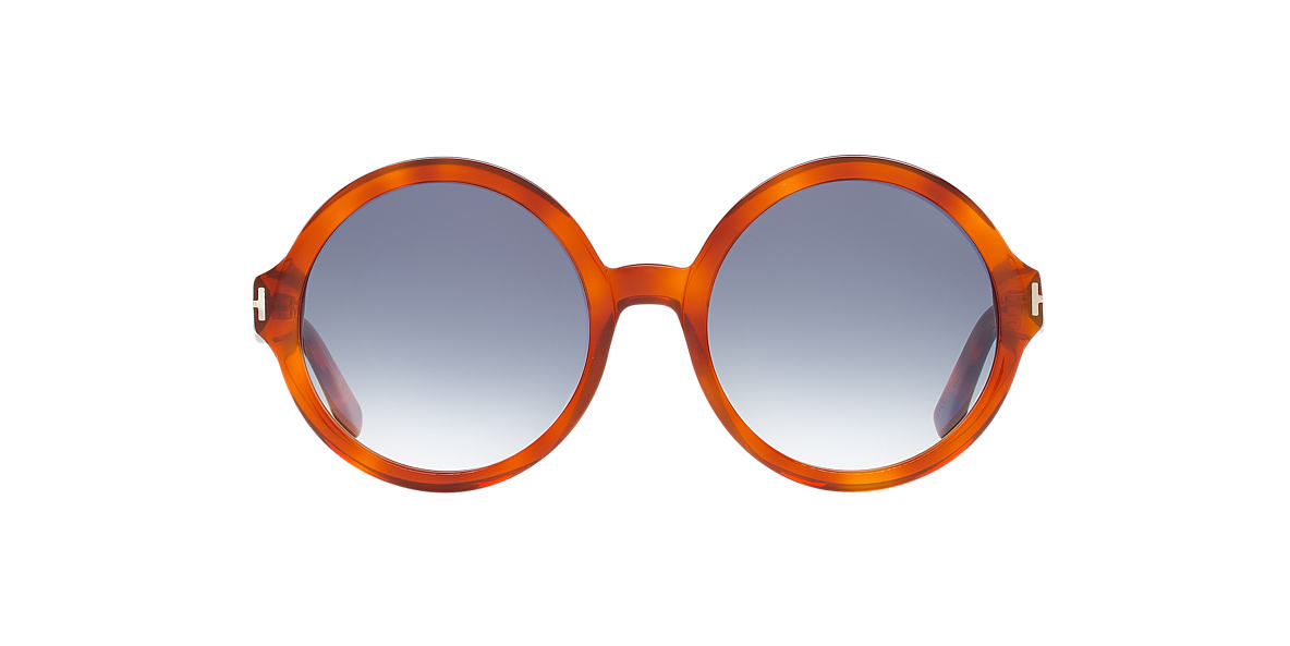 TOM FORD Tortoise FT0369 55 Silver lenses 55mm