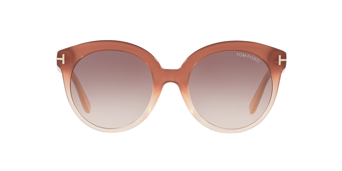 TOM FORD Pink FT0429 MONICA 54 Brown lenses 54mm