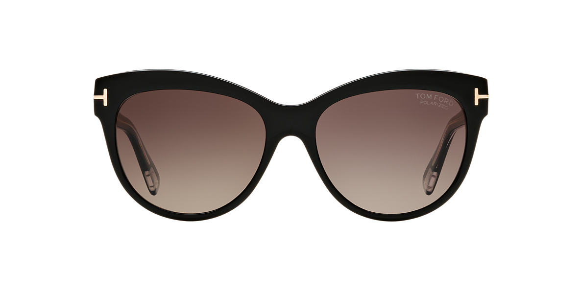 TOM FORD Black FT0430 LILY 56 Purple lenses 56mm