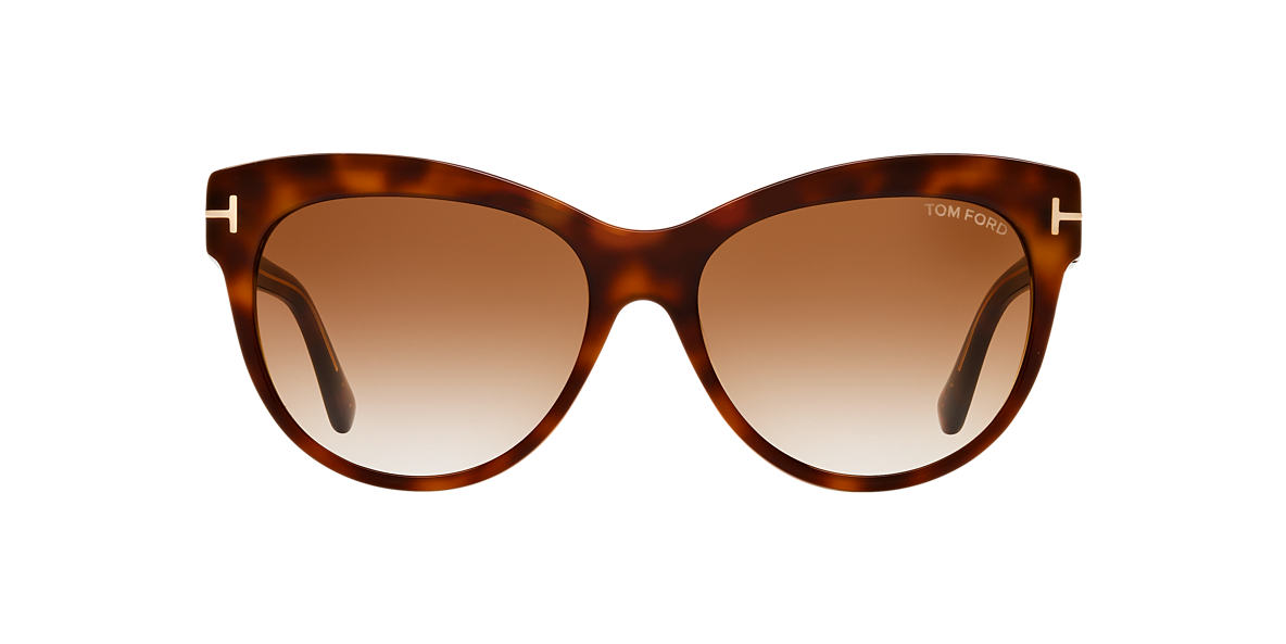 TOM FORD Brown FT0430 LILY 56 Brown lenses 56mm