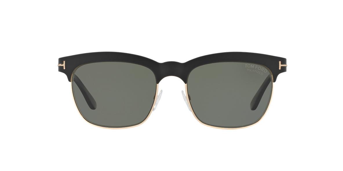 TOM FORD Black FT0437 ELENA 54 Green polarized lenses 54mm