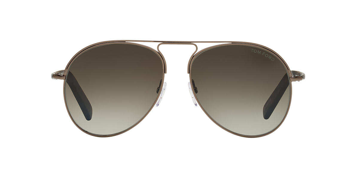TOM FORD Gunmetal Shiny FT0448 CODY 56 Grey lenses 56mm