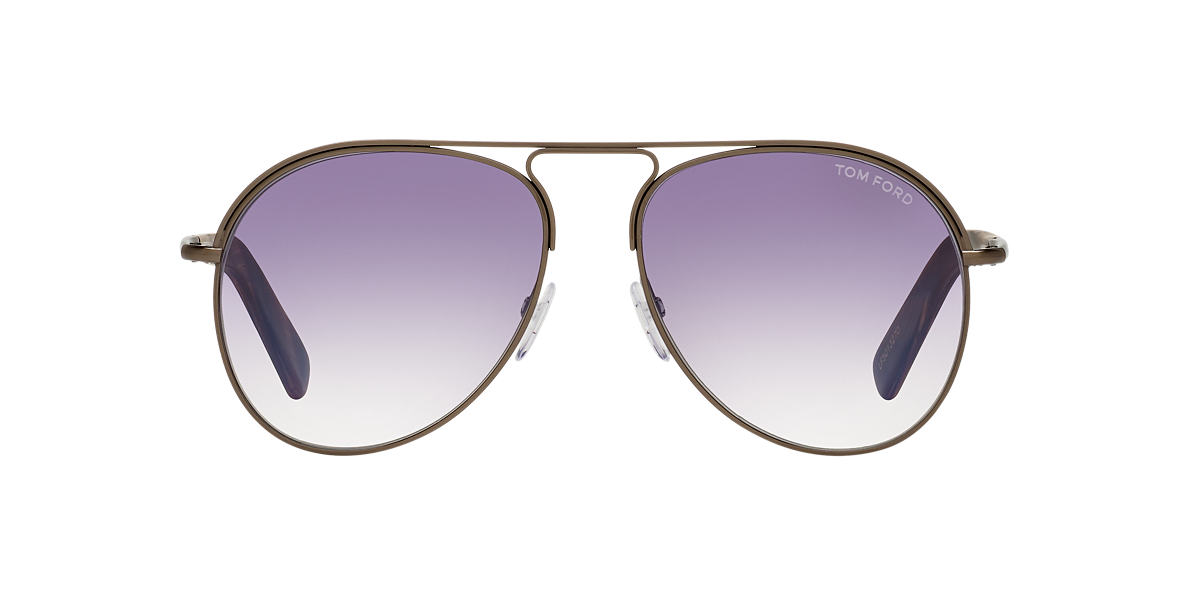 TOM FORD Brown FT0448 CODY 56 Purple lenses 56mm