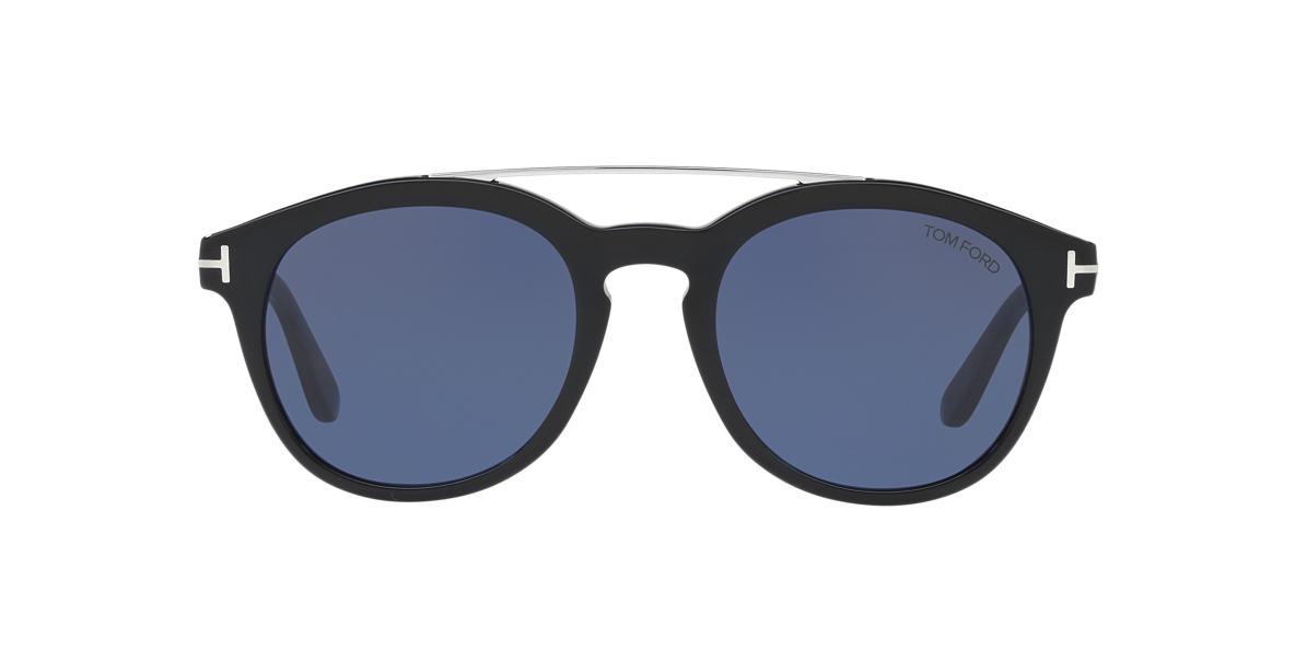 TOM FORD Black TF515 Blue lenses 53mm