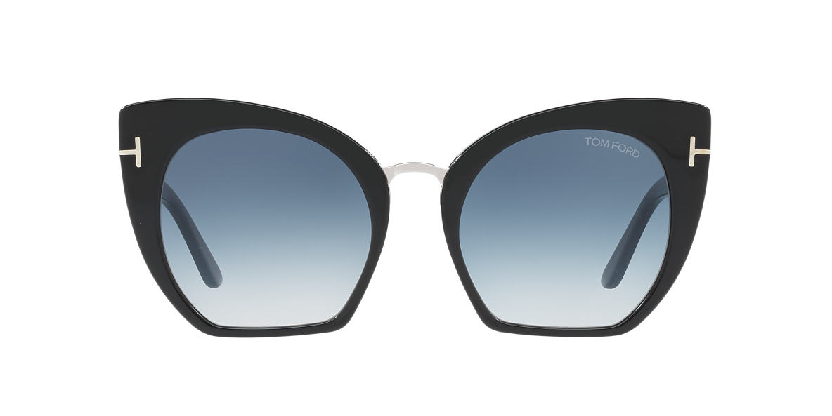 TOM FORD Black FT0553 SAMANTHA 55 Blue lenses 55mm