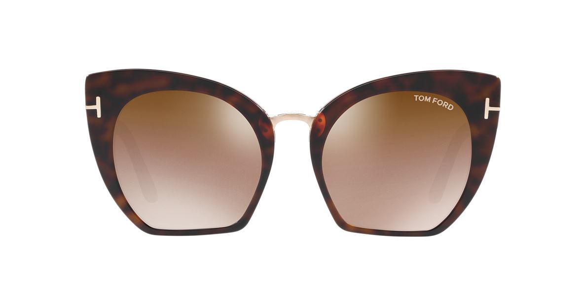 TOM FORD Tortoise FT0553 SAMANTHA 55 Brown lenses 55mm