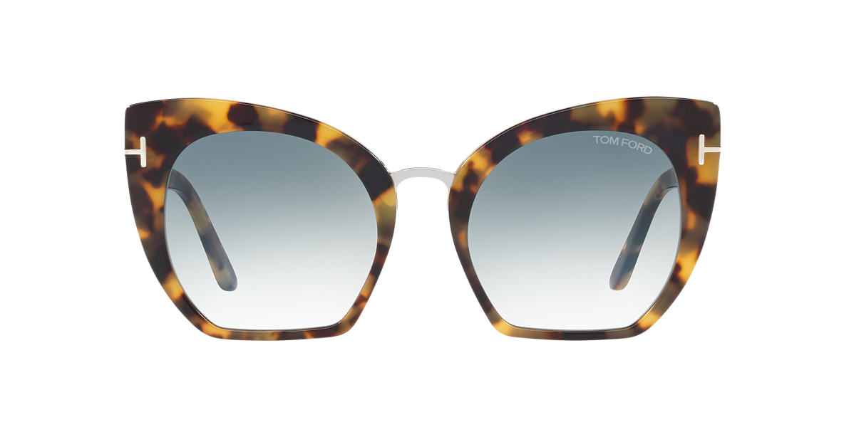 TOM FORD Tortoise FT0553 SAMANTHA 55 Blue lenses 55mm