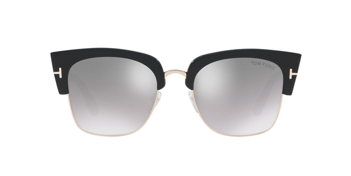 TOM FORD Black FT0554 DAKOTA 55 Silver lenses 55mm