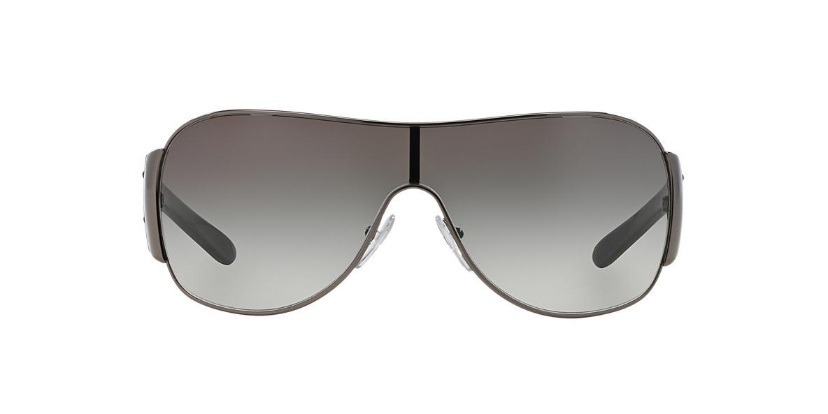 PRADA Gunmetal Shiny PR 57LS Grey lenses 32mm