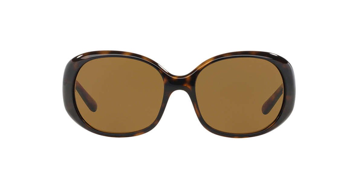 PRADA Tortoise PR 27LS 57 Brown polarized lenses 57mm