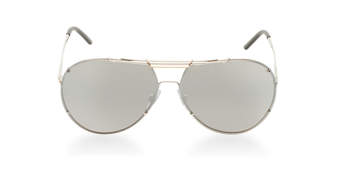 DOLCE and GABBANA Silver DG2075 Grey lenses 63mm