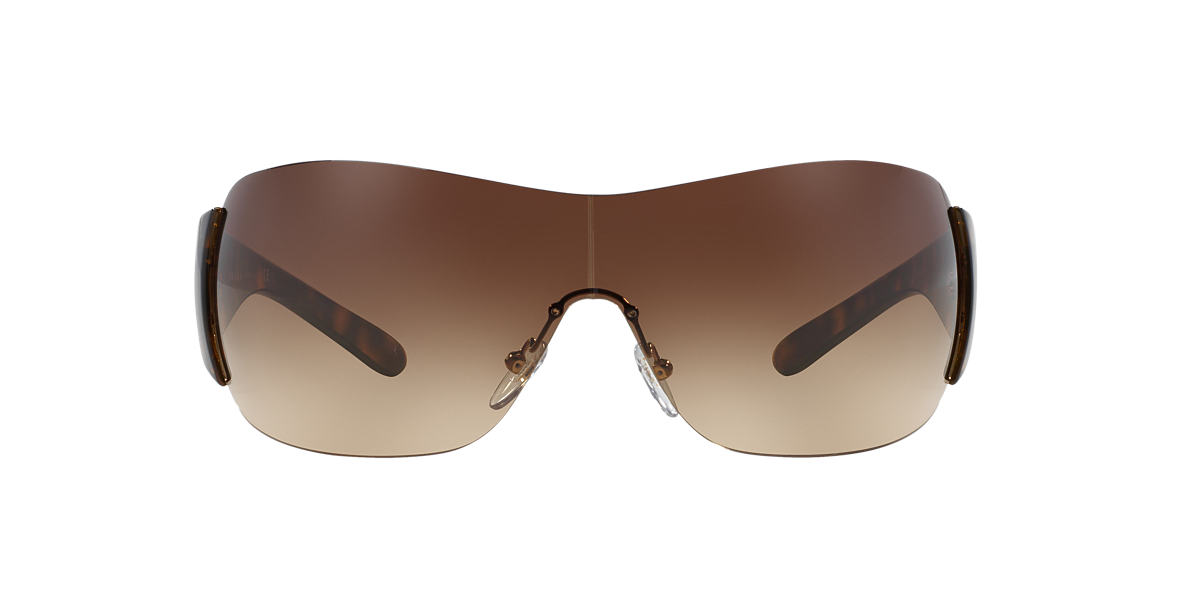 PRADA Tortoise PR 22MS Brown lenses 35mm