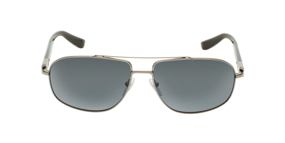 PRADA Gunmetal PR 57NS Grey polarized lenses 62mm