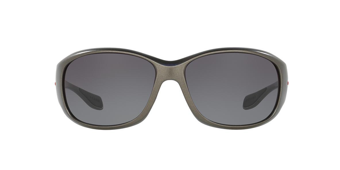 PRADA LINEA ROSSA Brown PS 06MS Grey lenses 67mm
