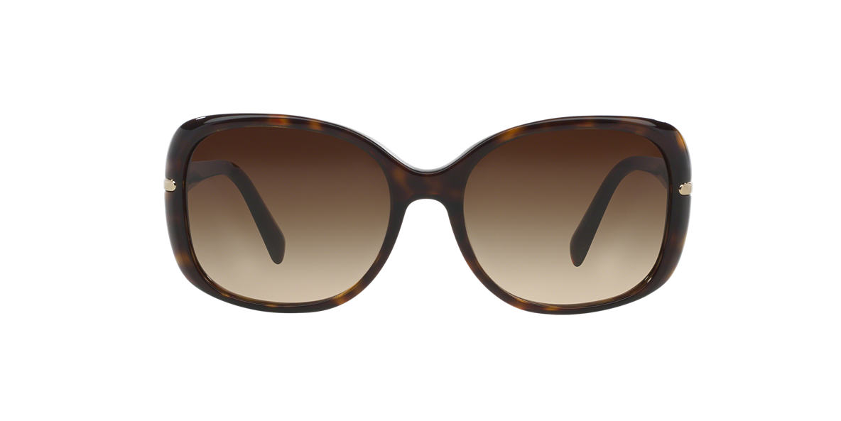 PRADA Brown PR 08OS Brown lenses 57mm