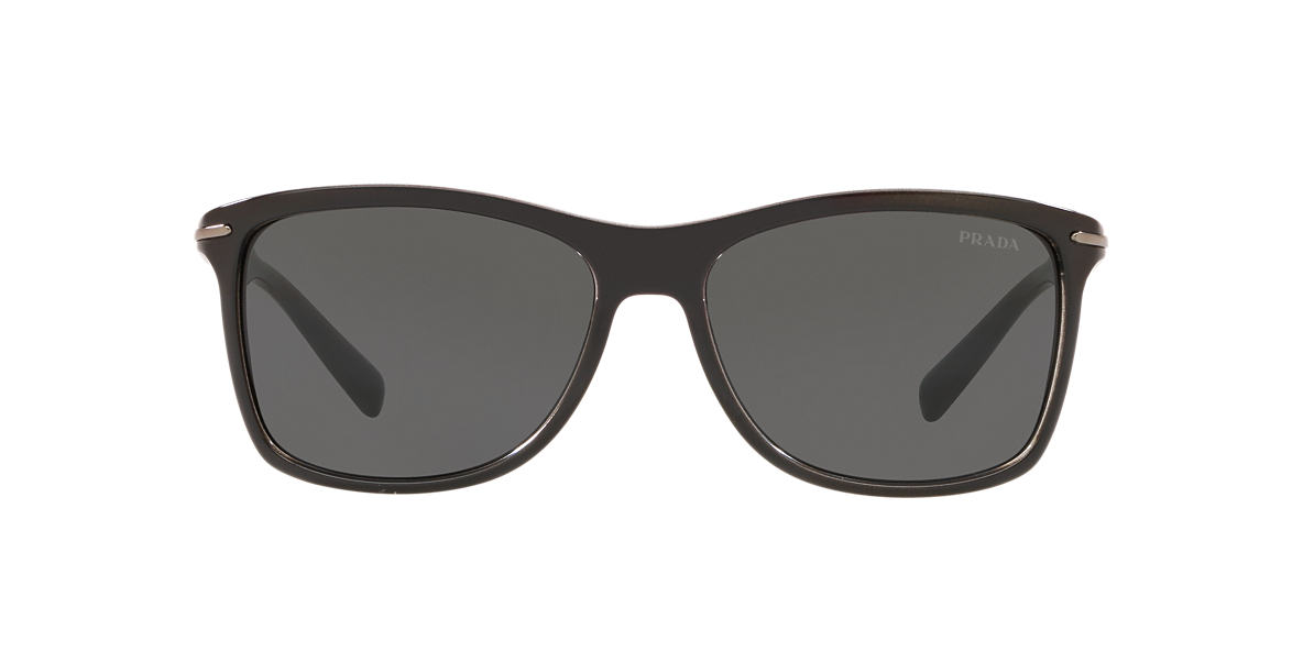 PRADA Black PR 10OS Grey lenses 60mm