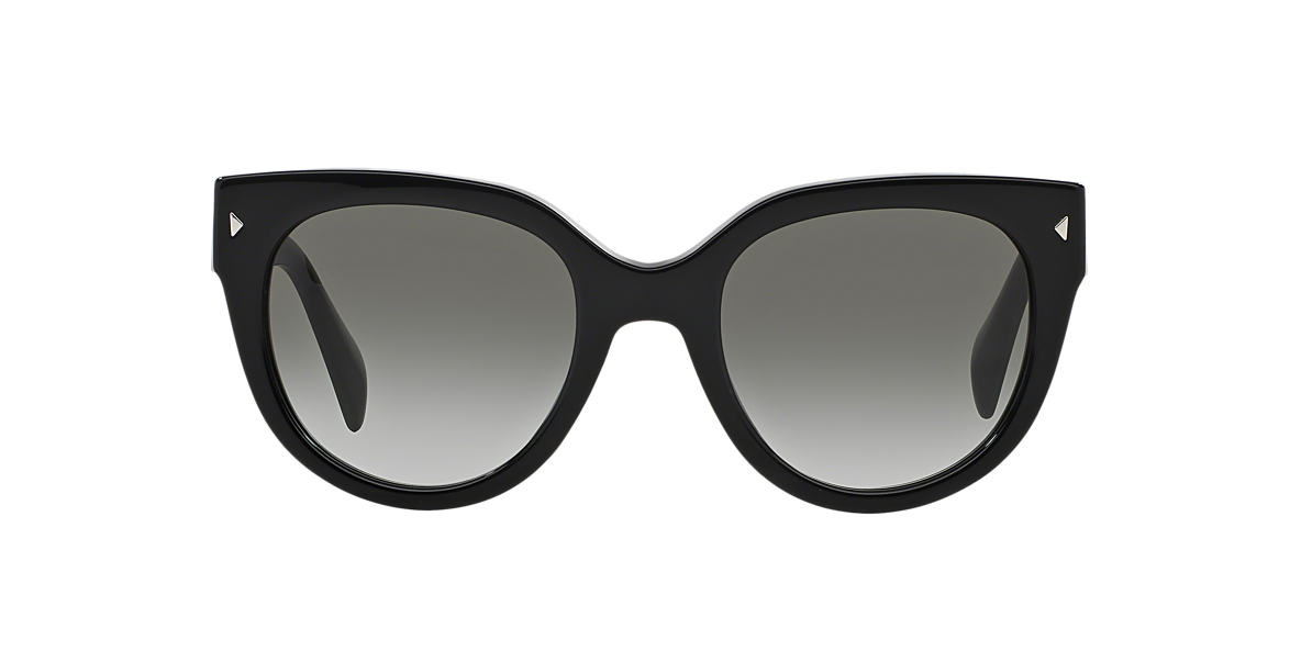 PRADA Black PR 17OS Grey lenses 54mm