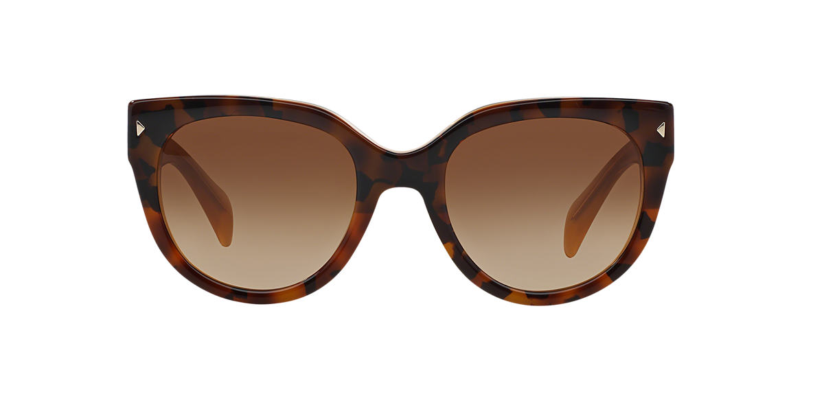 PRADA Brown PR 17OS Brown lenses 54mm