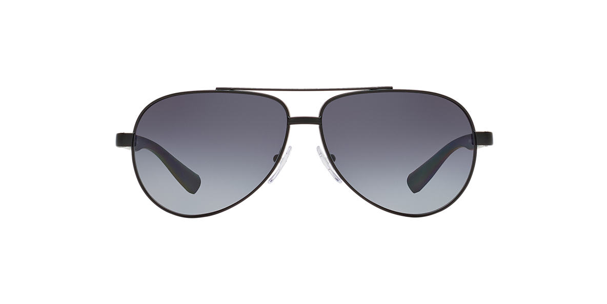 PRADA LINEA ROSSA Black PS 51NS Grey polarized lenses 63mm