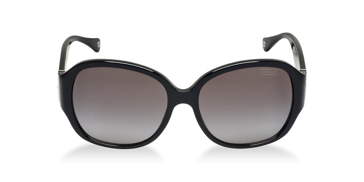 COACH Black HC8037B ANGELINE Grey lenses 57mm