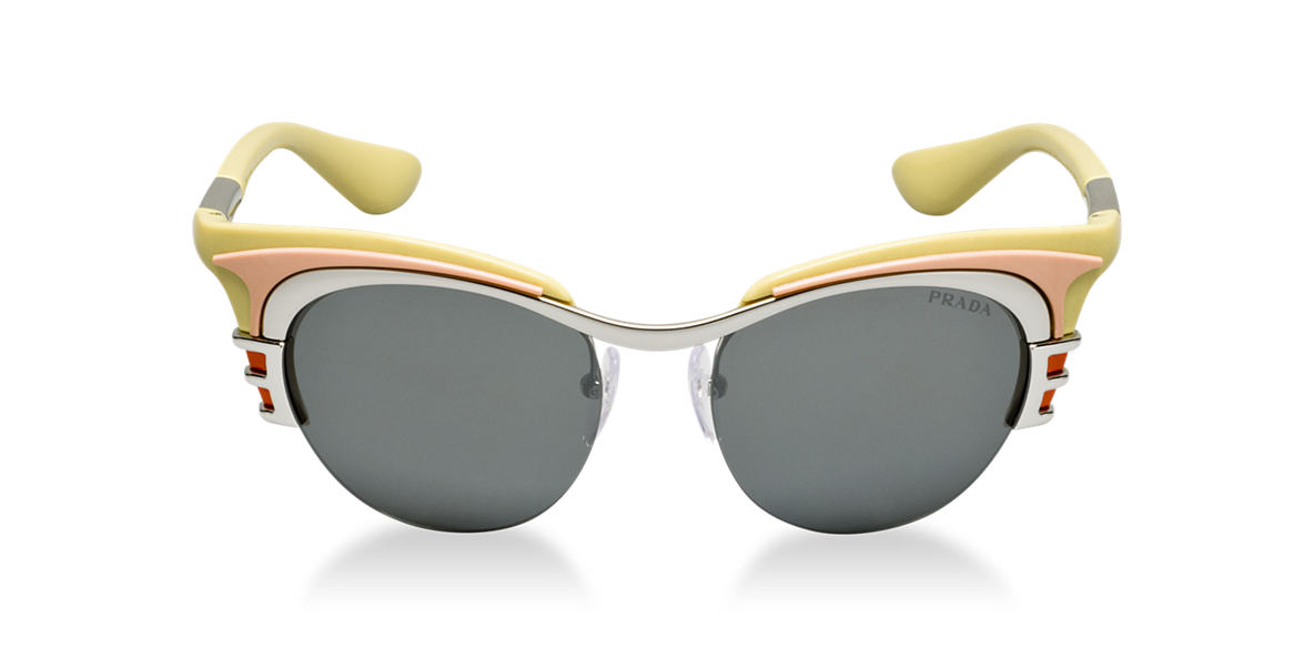 PRADA Yellow PR 60OS Grey lenses 49mm